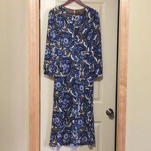 Express floral jumpsuit